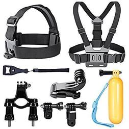 Neewer 10-in-1 Sport Accessory Kit for GoPro Hero4 Session H