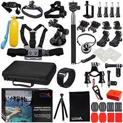 Husiway Accessory Kit for GoPro Hero 6 5 Black Hero 7 1 2 3