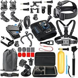 SmilePowo Accessory Kit for GoPro Hero 6,5 Black, HERO ,Hero