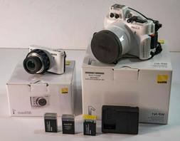 Nikon 1 Camera and WP-N1 Waterproof Case Scuba Underwater 40