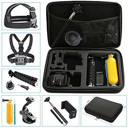 NavTour Outdoor Sports Camera Accessories Kits for Gopro Her
