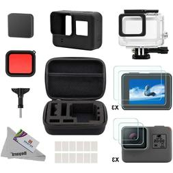 Deyard Accessory Kit for Go Pro Hero 7/HD/6/5 with Shockproo