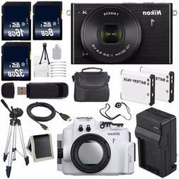 Nikon 1 J4 Mirrorless Digital Camera with 10-30mm Lens   + N
