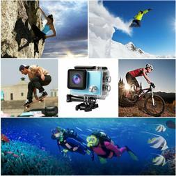 1080P 4K Full HD Waterproof WiFi Sport Action Camera Travel