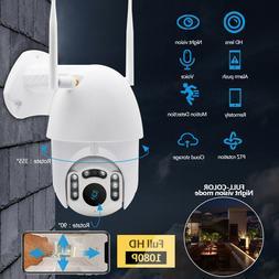 1080P Outdoor Camera HD IP66 CCTV Waterproof WiFi PTZ Securi