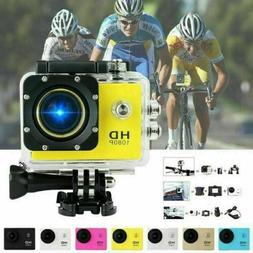 1080P Ultra HD Sport Action Camera DVR DV Helmet Cam Waterpr