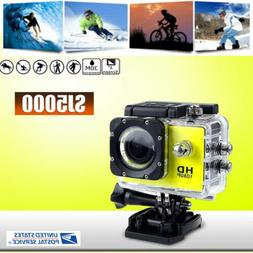 1080P Ultra HD Waterproof 30M Action Camera Sports Camcorder