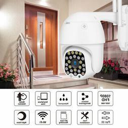 1080P Wireless Outdoor Waterproof IP Camera HD PTZ WiFi Secu