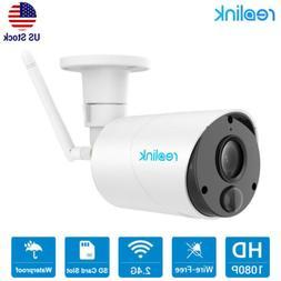 1080P Wireless Security Camera Battery Powered 2-Way Audio W