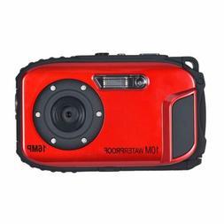 10M Waterproof Red Camera Camcorder KINGEAR