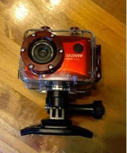 Vivitar 12.1MP Full HD Waterproof Action Camcorder / Camera