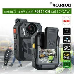 Boblov 1296P Ultra HD Police Body Camera Action Cam Video Ca
