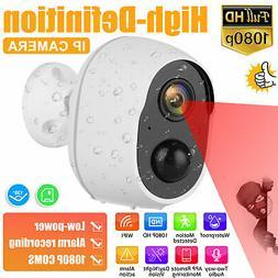 1080P HD Outdoor PIR Motion Wireless IP Camera WiFi Security