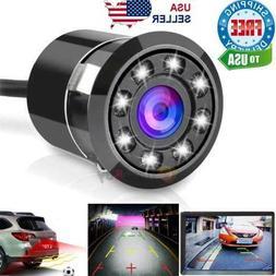 170° CMOS Car Rear View Backup Camera Reverse 8 LED Night V