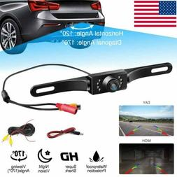 170° Car Rear View Backup Parking Reverse Camera CMOS HD Ni