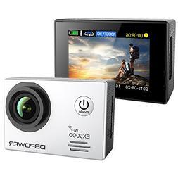 DBPOWER 2.0'' WIFI 14MP HD 1080P Waterproof Action Camera
