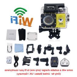 "2"" 4K Ultra HD 16MP Helm Action Camera Sports DV WiFi Cam 30"