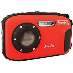 Coleman 20.0 MP/HD Waterproof Digital Camera-Red