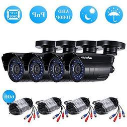 KKmoon 41080P 2000TVL AHD Waterproof IR CCTV Camera + 460ft