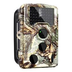 2018 Updated Trail Game Camera ,0.4s Trigger MMS/3G/SMTP/F