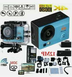 2020 NEW Wifi 1080P 4K Ultra HD Sports Action Camera DVR Cam