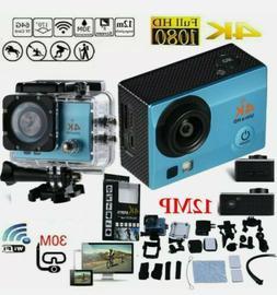 2020 NEW Wifi 1080P 4K Ultra HD Sports Action Camera DVR Cam