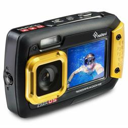Ivation 20MP Underwater Waterproof Shockproof Digital Camera