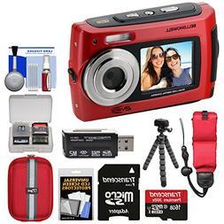 Bell & Howell 2VIEW18 HD Dual Screen Waterproof Digital Came