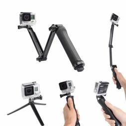 3 Way Waterproof Monopod Pole Selfie Stick camera tripod mou