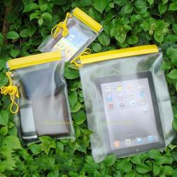 3Pcs Waterproof Camera Mobile Phone Pouch PVC Dry Bag Case f