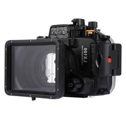40m Waterproof Underwater Housing for Panasonic LUMIX DMC-LX