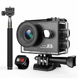 DBPOWER 4K Action Camera 12MP Ultra HD Waterproof Sports Cam