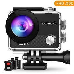 4K Action Camera 16MP WiFi Underwater Cam 30M Waterproof Cas