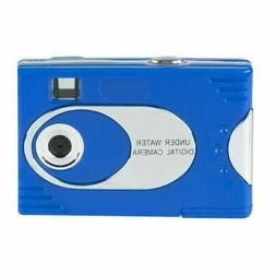 Vivitar 5.1mp Waterproof Digital Camera Blue Vivicam V26690