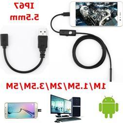 5.5mm 720P Endoscope <font><b>Camera</b></font> HD <font><b>