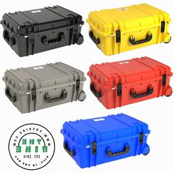 920 large waterproof protective case with wheels