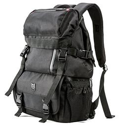 DSLR Camera Backpack Evecase Outdoor Water Resistant Multipu