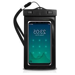 EcoGear FX Waterproof Phone Bag Pouch - Universal IPX8 Water
