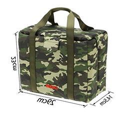Foldable Shockproof Camouflage Camera Lens Case Bag Photogra