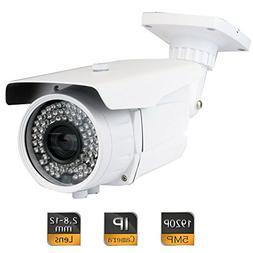 GW Security 5MP 2592 x 1920 Pixel Super HD 1920P High Resolu
