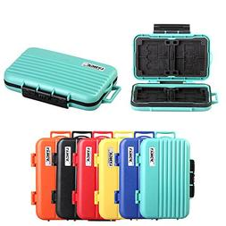 HelloPower Memory Card Cases, SD SDHC SDXC CF TF Memory Card