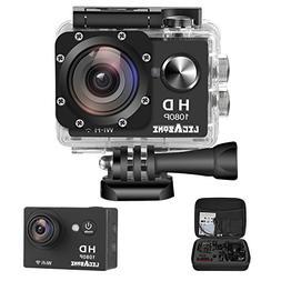 Legazone WIFI 2.0'' 12MP HD 1080P 170Wide Sports Camera Acti