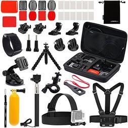 Luxebell Accessories Kit for AKASO EK5000 EK7000 4K WIFI Act