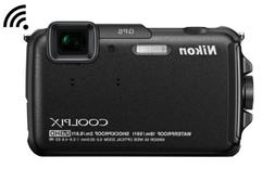 Nikon COOLPIX AW110 Wi-Fi and Waterproof Digital Camera with