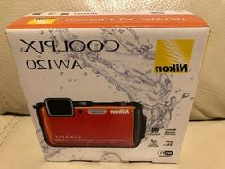 Nikon COOLPIX AW120 16 MP Wi-Fi and Waterproof Digital Camer