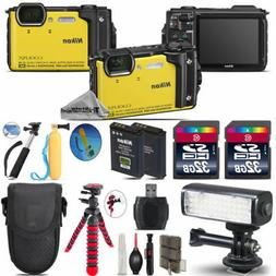 Nikon COOLPIX W300 Waterproof Camera + Extra Battery + Video