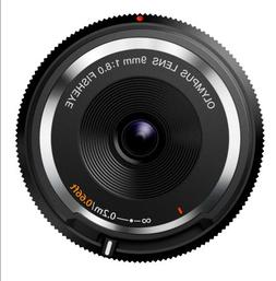 Olympus 9mm f8.0 Fisheye Body Cap Lens BCL-0980 for Micro 4/