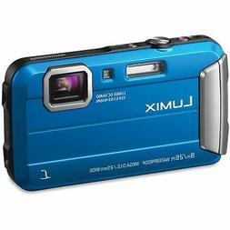 Brand New Panasonic LUMIX DMC-TS30 Blue Digital Camera Seale