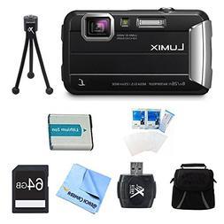 Panasonic LUMIX DMC-TS30 Active Tough Black Digital Camera 6