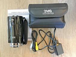 PowerLead 16MP 1280x720 HD Digital Video Camera Recorder Bla